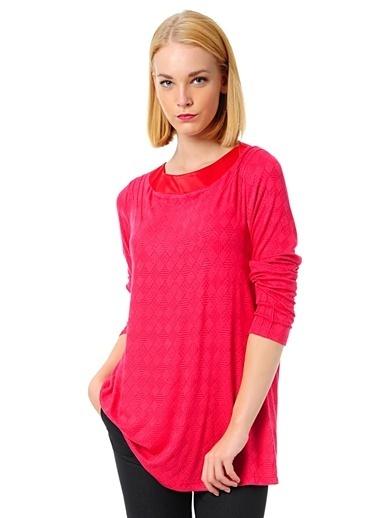 Cotton Bar Bluz Kırmızı